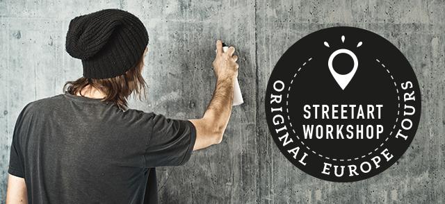 Bild The Original Budapest Streetart Workshop