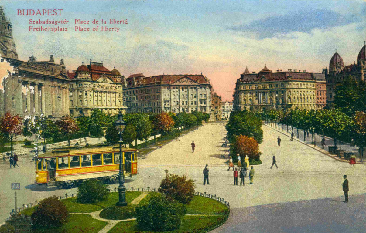 The History and Stories of Budapest's Liberty Square