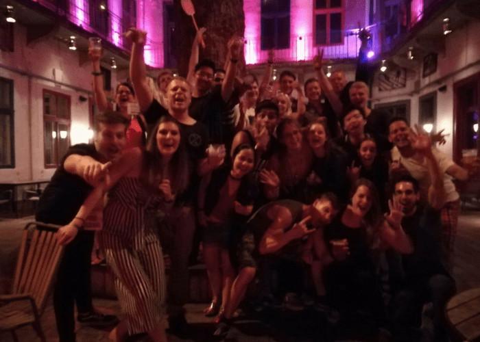 the best budapest pub crawl